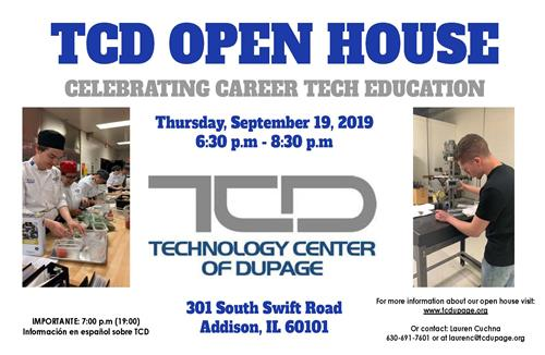 TCD Open House 2019